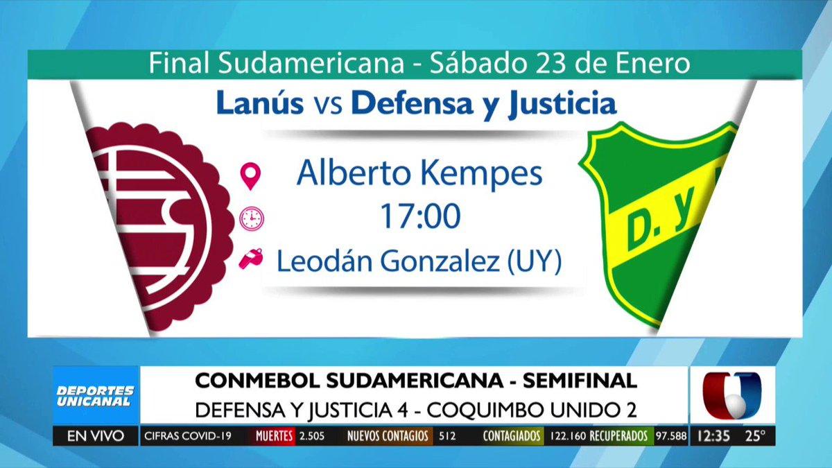 ⏩ La #Libertadores y #Sudamericana ya tienen a sus jueces confirmados.  #DeportesUnicanal