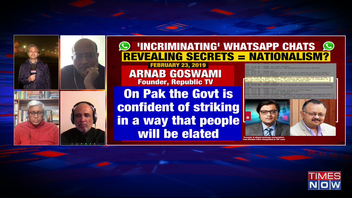 His (Arnab Goswami) 'nationalism' would be in doubt if he'd have not covered Balakot airstrike: Swapnil Kothari, Senior Lawyer, tells Navika Kumar on @thenewshour. | #ChatgateBetraysBraves