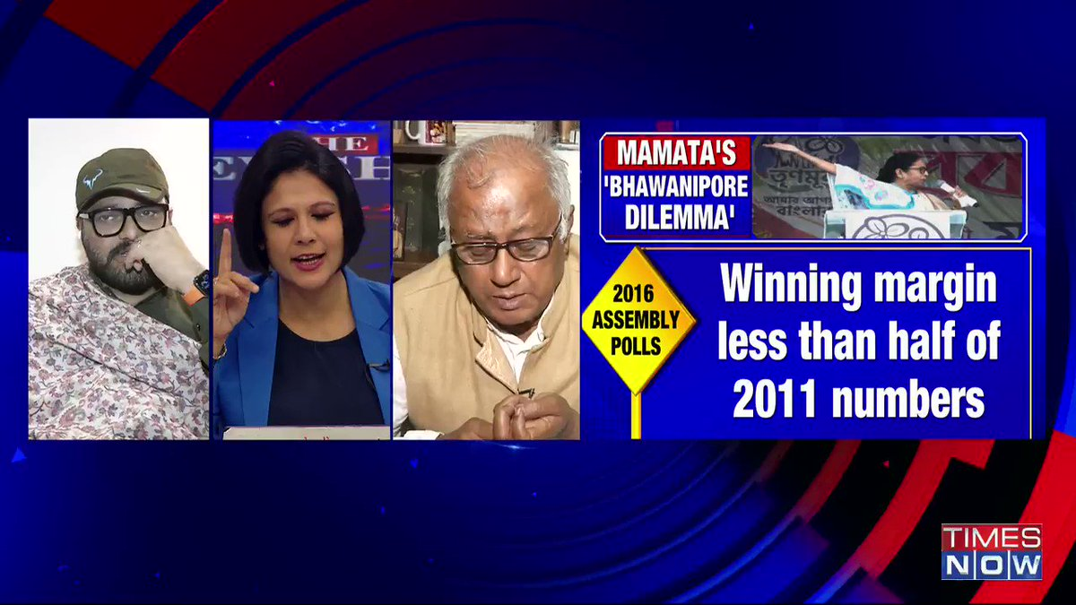 If @MamataOfficial stands from Bhowanipore this time (Bengal polls), she will win by 50,000 votes: @SaugataRoyMP, MP, TMC, tells Padmaja Joshi on @thenewshour AGENDA. | #MamataPrestigeBattle