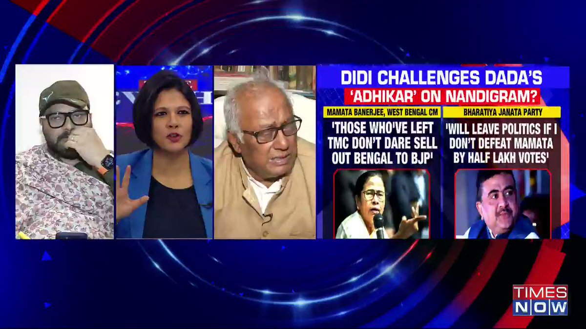 Mamata Banerjee has lost her support in Bhowanipore and she being an astute politician understands that. Mamata is making a political gimmick: @SuPriyoBabul, MOS Environment, Forest & Climate, tells Padmaja Joshi on @thenewshour AGENDA. | #MamataPrestigeBattle