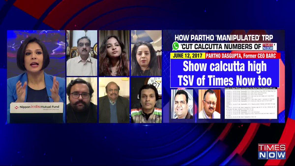 It's a personal chat between 2 individuals (WhatsApp chats allegedly between Arnab Goswami & Partho Dasgupta): @adv_chandnishah, Advocate, tells Padmaja Joshi on @thenewshour AGENDA. | #ArnabChatGate