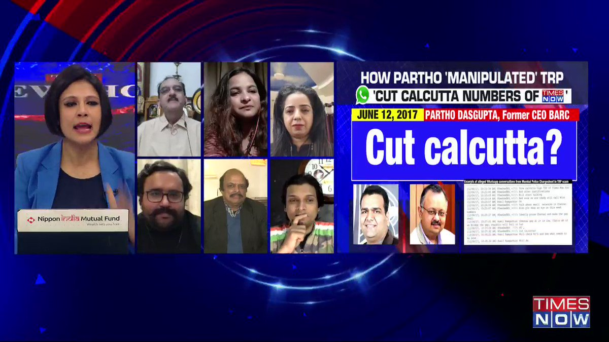 To say that chats (WhatsApp chats allegedly between Arnab Goswami & Partho Dasgupta) have zero value, that's absolutely ridiculous: @sumanthraman, Political Analyst, tells Padmaja Joshi on @thenewshour AGENDA. | #ArnabChatGate