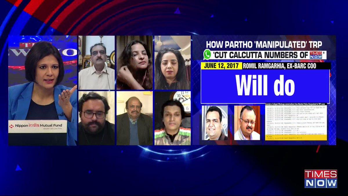 Leaking of 'military secrets' is a serious crime: Sharad Pradhan, Journalist, tells Padmaja Joshi on @thenewshour AGENDA. | #ArnabChatGate