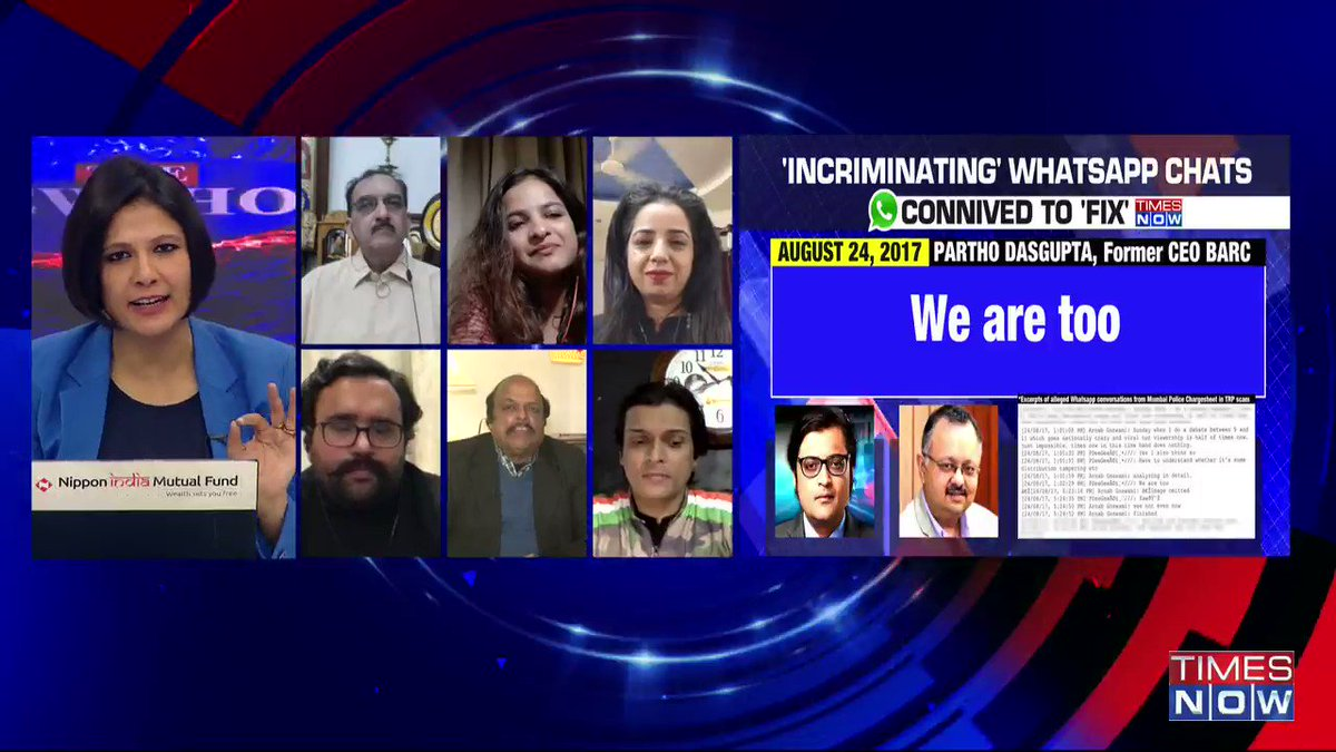There's code of ethics of broadcasting standards. Arnab Goswami has seriously violated every possible code of conduct: Vineet Dhanda, Advocate SC, tells Padmaja Joshi on @thenewshour AGENDA. | #ArnabChatGate