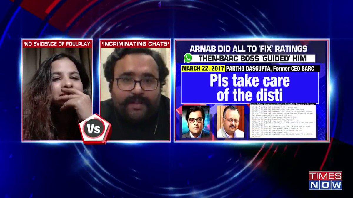 We should all have an introspection attitude: @RahulEaswar, Activist, tells Padmaja Joshi on @thenewshour AGENDA.   @sumanthraman, Political Analyst counters. | #ArnabChatGate