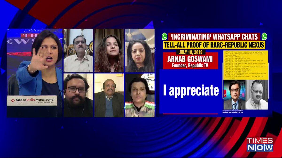 Even if Mumbai Police has an agenda (chargesheet in TRP scam), a crime cannot be ignored: Sharad Pradhan, Journalist, tells Padmaja Joshi on @thenewshour AGENDA. | #ArnabChatGate