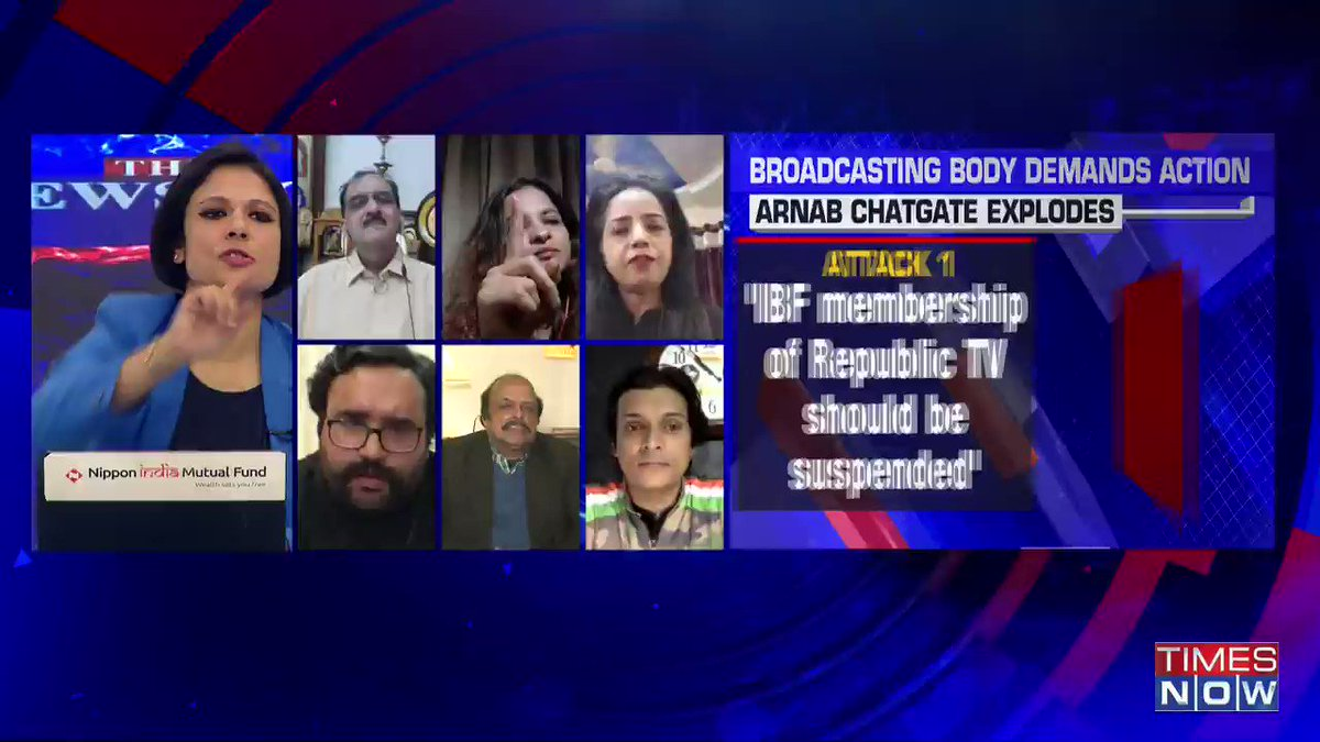 Does any of the chat, which Arnab Goswami has done, implicate that there's a specific TRP rigging done? : @adv_chandnishah, Advocate, tells Padmaja Joshi on @thenewshour AGENDA. | #ArnabChatGate