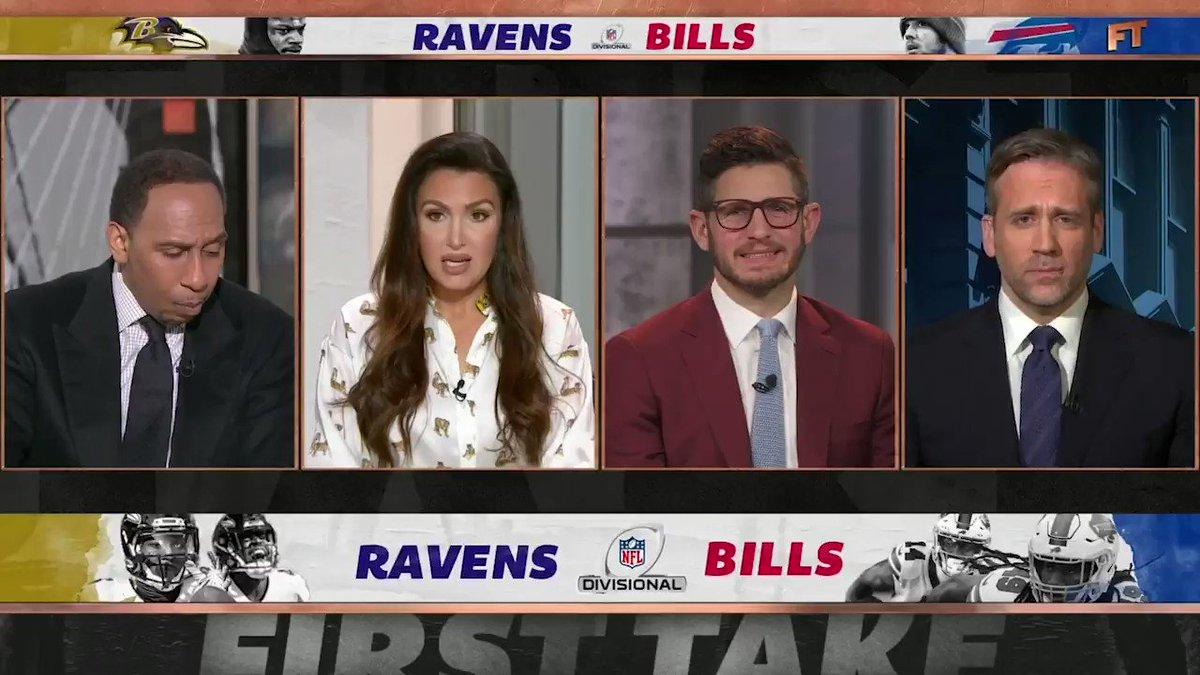.@stephenasmith blames Lamar Jackson for Ravens' loss.
