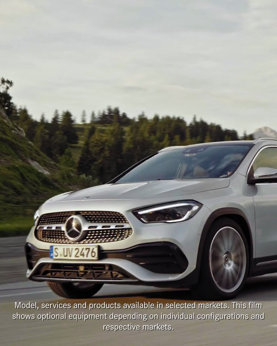 From sporty design to a dashboard packed with high-tech features: The new #GLA ticks all the boxes. Come along on an exciting test drive from winding scenic roads to exciting light offroad terrain. Watch the full film now.  Watch the film:  #MercedesBenz