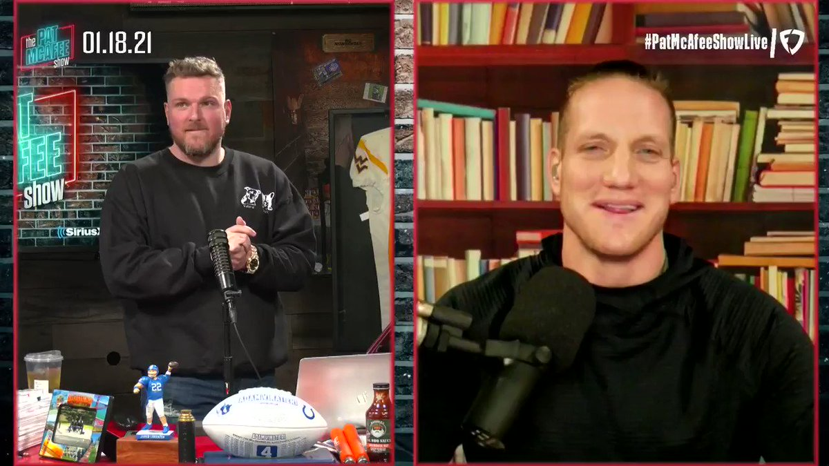 """Jack Easterby  WHAT!?  This guy?  WHAT!?  From New England  WHAT!?  Says """"Pray with me""""  WHAT!?  #PatMcAfeeShowLIVE"""