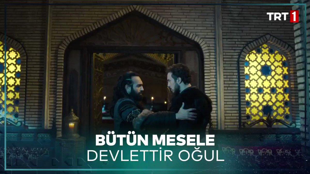 """""""Bütün mesele devlettir oğul...""""   Sultan Melikşah ve Melik Tapar'ın anlamlı konuşması... #UyanışGünü #UyanışBüyükSelçuklu @TRT1"""
