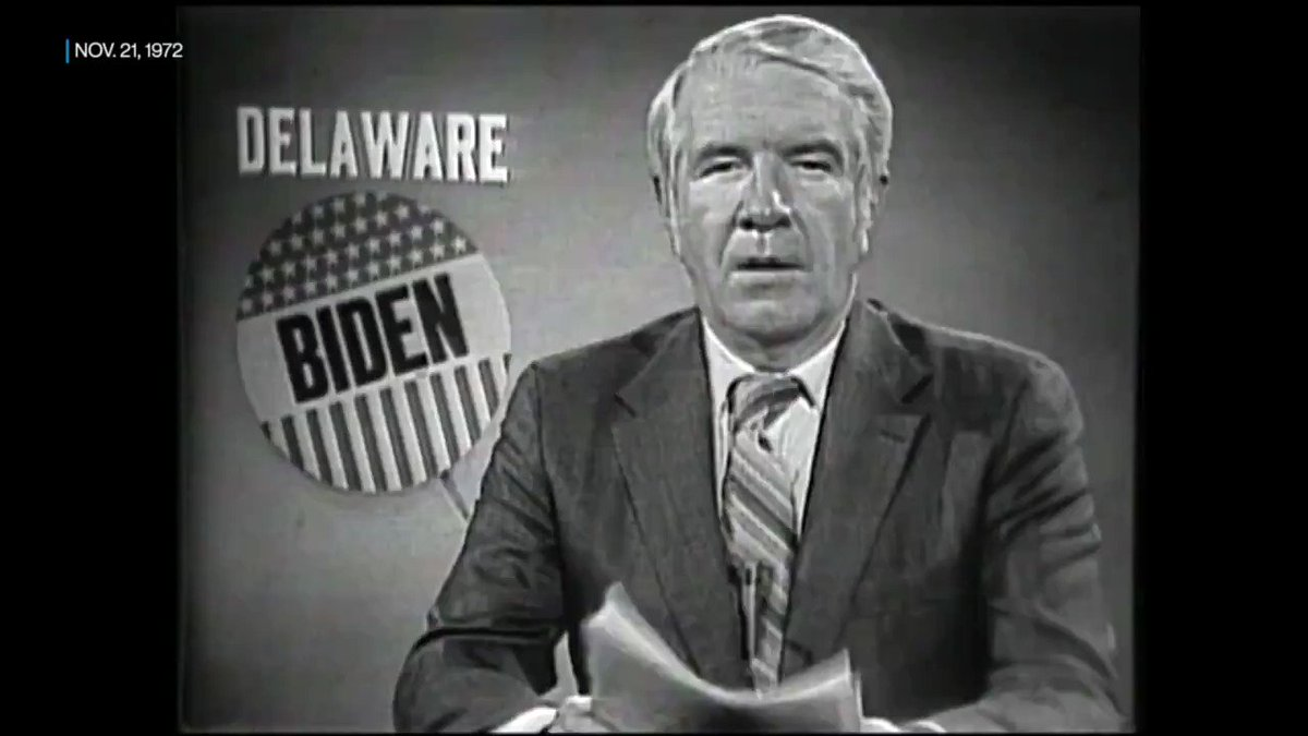 FROM THE ARCHIVE: @ABC News' Bob Clark profiled Joe Biden in 1972, when he was just old enough to serve as a U.S. senator.