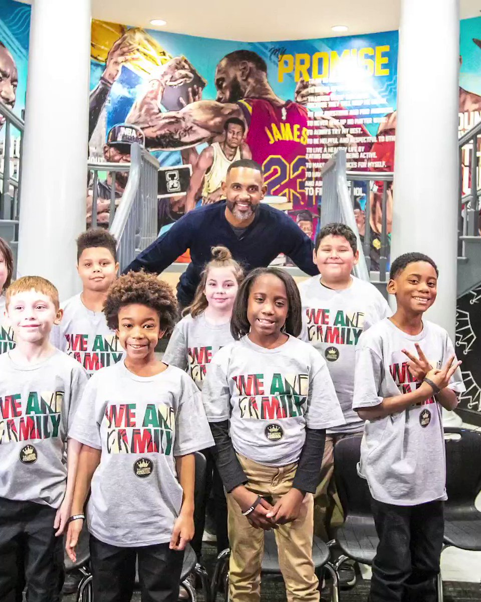 In year 1️⃣ at the @ipromiseschool, our kids had the chance to spend time with @realgranthill33 and reflect on the life and legacy of Dr. Martin Luther King Jr. 3️⃣ years later, this video reminds us of the dreams this generation holds, and how they continue to uphold MLK's legacy.