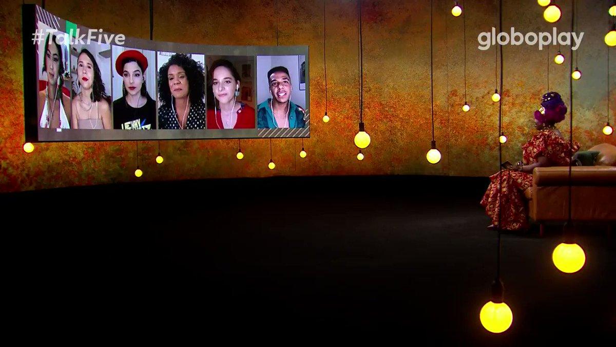 Quero ouvir um ✨shantay, you stay✨ bem alto pro @marcosoliator! Já estou com saudades de Miguel // Michelle Esmeralda! #TalkFive