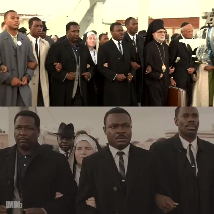 Replying to @IMDb: Behind the scenes vs. the scene in #Selma (2014)