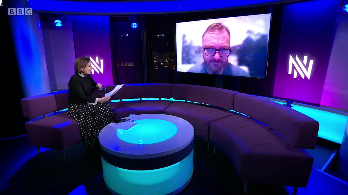 """""""In Russia no one knows what Novichokis.""""  Vitaly Milonov, a member of the ruling United Russia party, says he believes it is """"so popular"""" in the UK at the moment to say someone has been poisoned by the Novichoknerve agent in order to """"point the finger"""" at Russia  #Newsnight"""