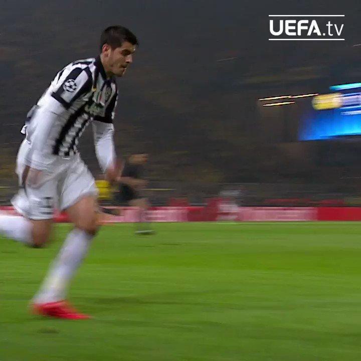 ⏪ Mats Hummels 🆚 Álvaro Morata...  #UCL | @BlackYellow | @matshummels