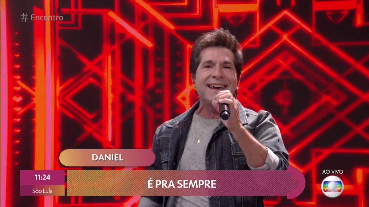 Replying to @RedeGlobo: Música nova do @cantordaniel ao vivo no meu #Encontro 🥰