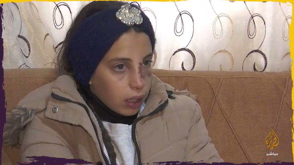 الطفلة الفلسطينية حلا مشهور قط .. تروي تفاصيل محاولة اختطافها على يد إسرائيليين  خاص للجزيرة #مباشر
