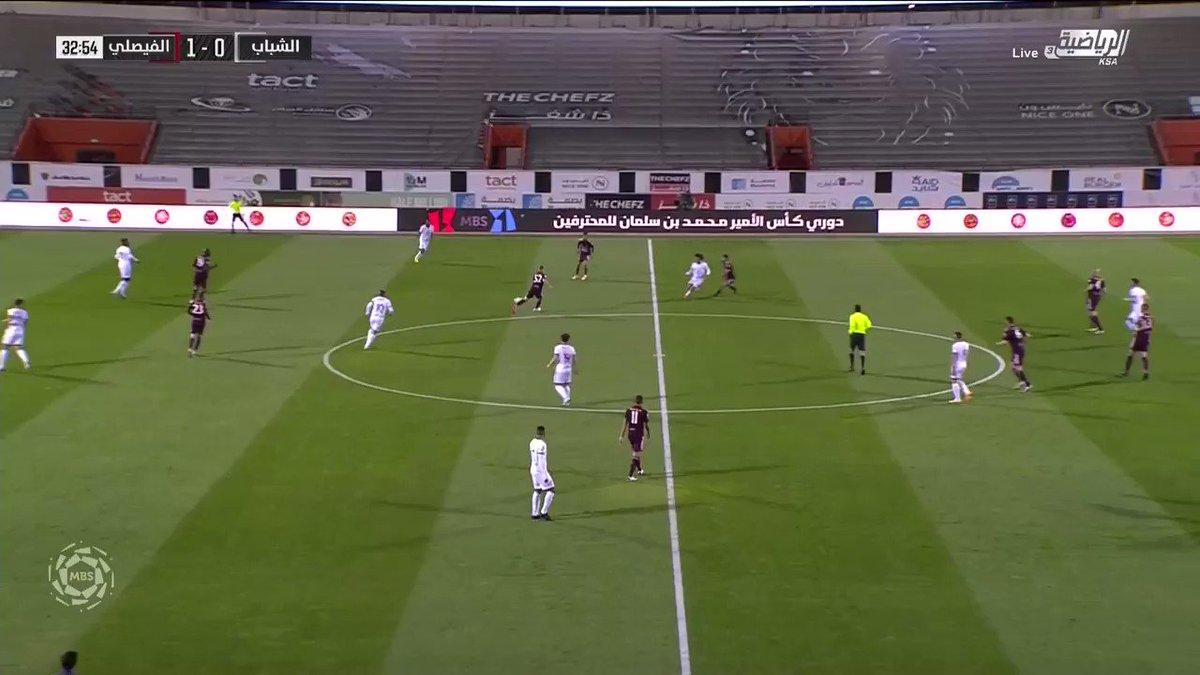 You need to see this goal from @AlShababSaudiFC's Fábio Martins. Ridiculous. 🤤🔥   🎥: @riyadiyatv