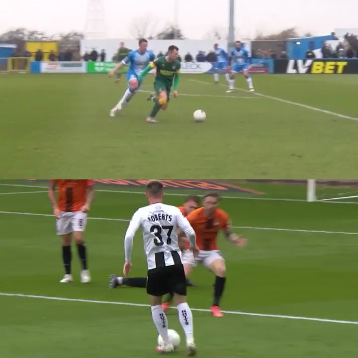 One year to the day since @Calroberts_ arrived at Meadow Lane and started doing things like this 🤯