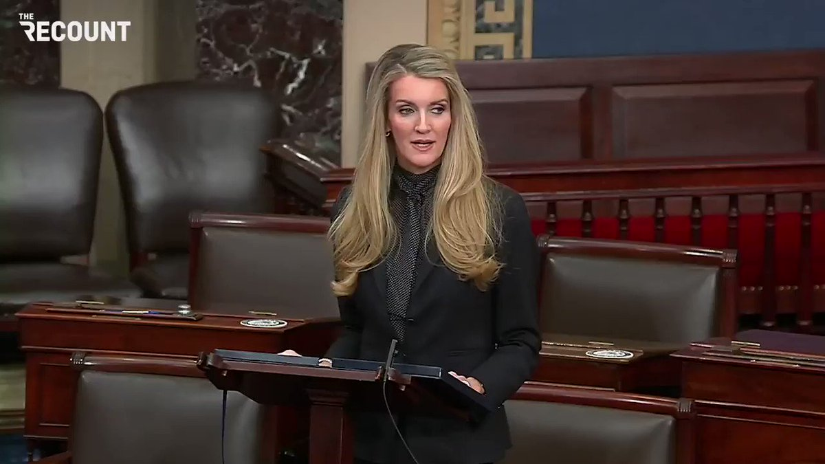 """@toddzwillich Sen. Kelly Loeffler in her Senate farewell speech: """"I refuse to be intimidated by the cancel culture and its dangerous narratives."""""""