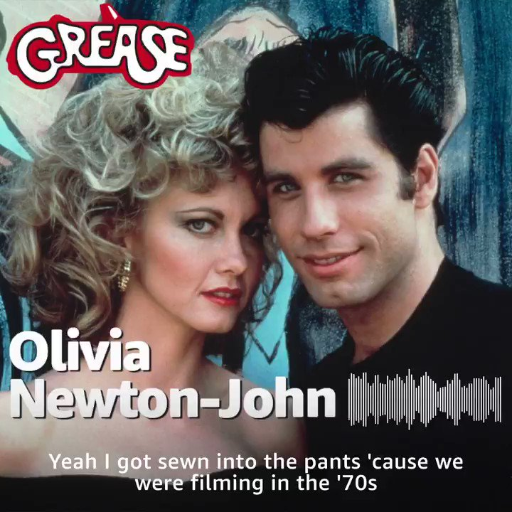 That Scene w/ Dan Patrick: @OliviaNJ chats with Dan about her iconic music number 'You're The One That I Want' from her hit film 'Grease.' She also breaks down the difficulty of getting sewn into your pants. @AmazonMusic @IMDb #PodcastsonAmazonMusic