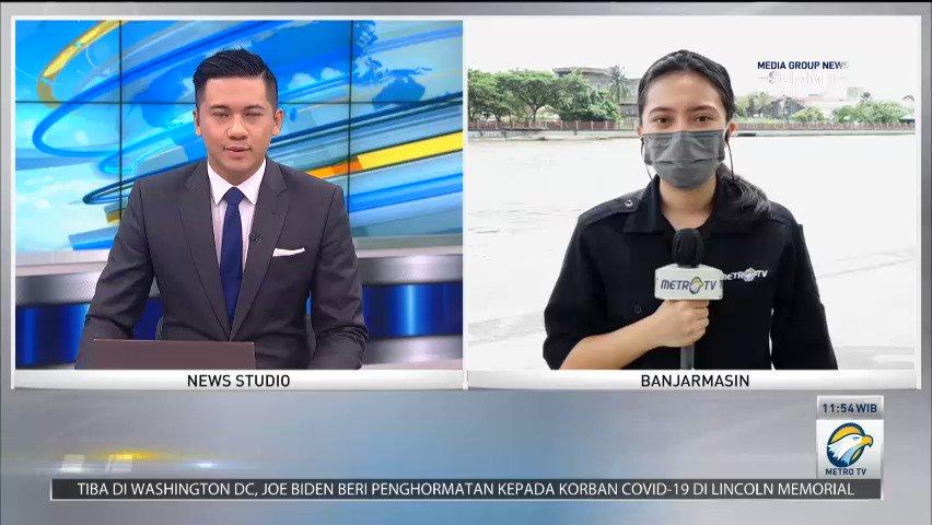 Banjir yang melanda Kalimantan Selatan memutuskan jalan utama dan merusak jembatan penghubung antar-wilayah. Sejumlah jembatan yang rusak sementara digantikan dengan jembatan darurat bailey yang dibangun oleh TNI. #MetroSiang