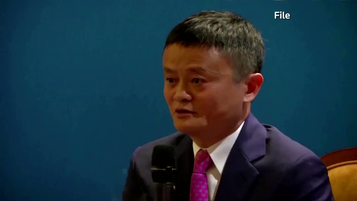 Alibaba's Jack Ma made his first public appearance in three months, sending shares in the e-commerce giant surging