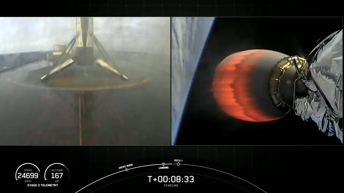 Falcon 9's first stage has landed on the Just Read the Instructions droneship!