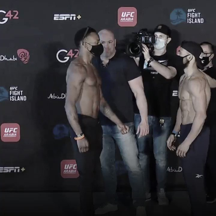 Featherweights look out 👊  🏴󠁧󠁢󠁥󠁮󠁧󠁿 @LeroneMurphy vs @DSilva_MMA 🇧🇷  are up next!   [ #UFCFightIsland8 | #InAbuDhabi | @VisitAbuDhabi ] https://t.co/ODP2nTF5wP