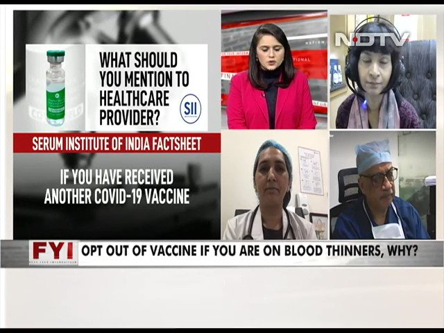 #FYI | Dr Padma Srivastava, Chief, Neuroscience Centre, AIIMS on #COVIDVaccine