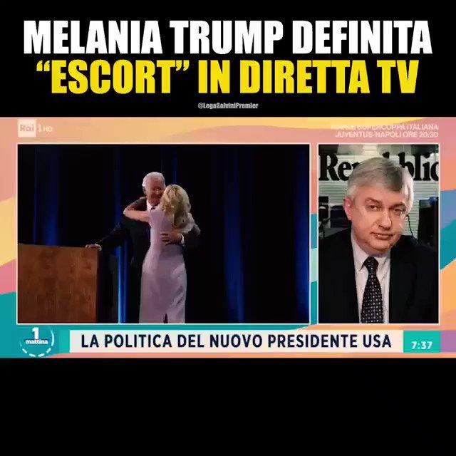 @matteosalvinimi's photo on Melania Trump