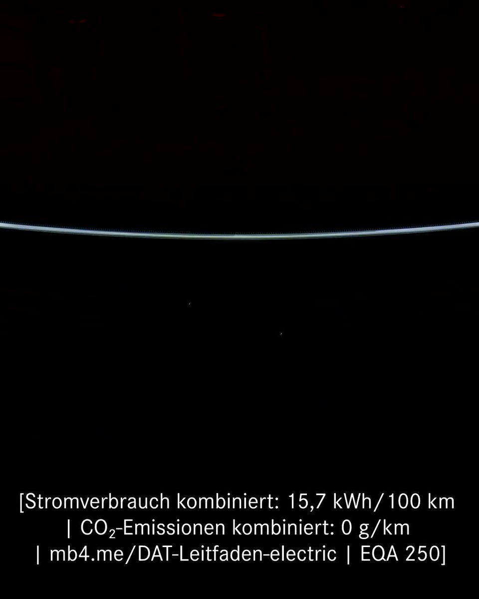 [Stromverbrauch kombiniert: 15,7 kWh/100 km   CO₂-Emissionen kombiniert: 0 g/km      EQA 250]  The new #EQA: a revolutionary entry into the all-electrical world of Mercedes-EQ, and an innovative way to look at urban mobility.  More: