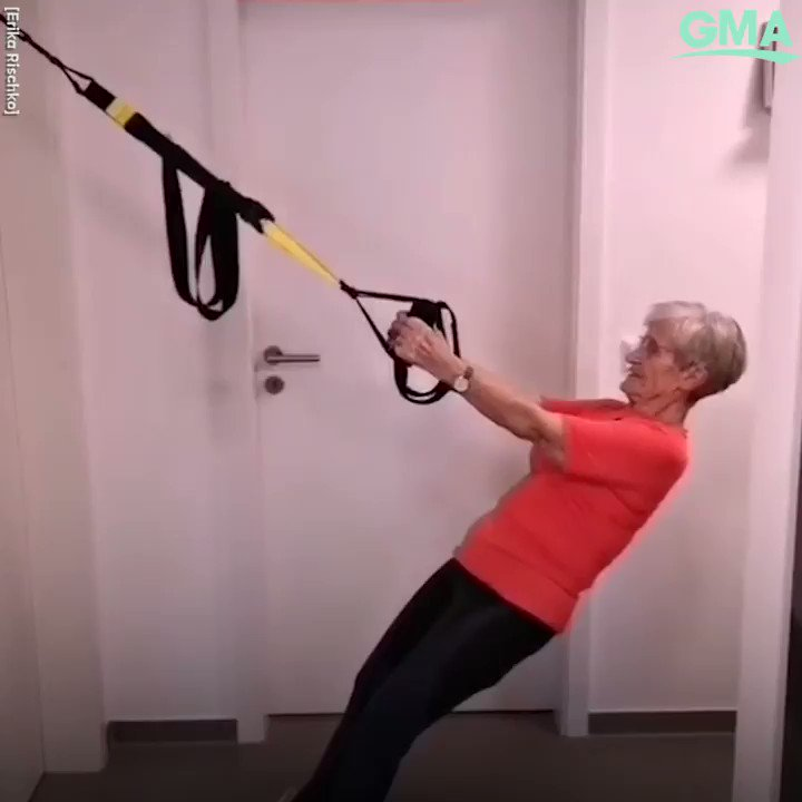 81-year-old Erika Rischko of Germany, is inspiring millions with her viral workouts!