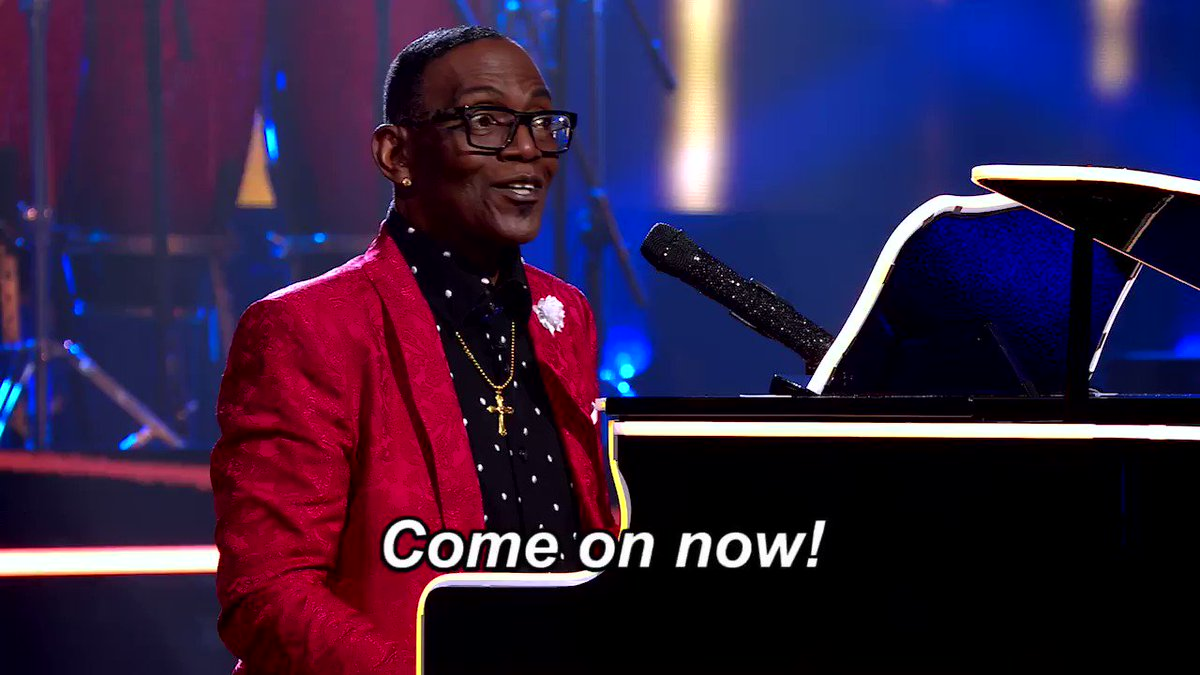 Don't you worry — @YO_RANDYJACKSON knows the vibes, Charity! 🙏 #NameThatTune