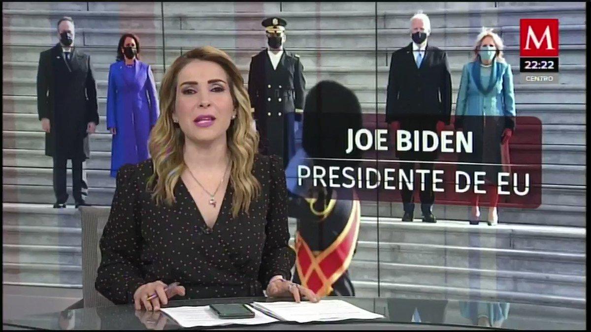 #AzucenaxMilenio | Tras la polémica generada por #Trump por el resultado del #ElectionDay, se vivieron días intensos en #EUA... todo culminó esta noche   Un largo camino... @AlexDominguezB nos tiene un breve recuento de lo que vivió Estados Unidos