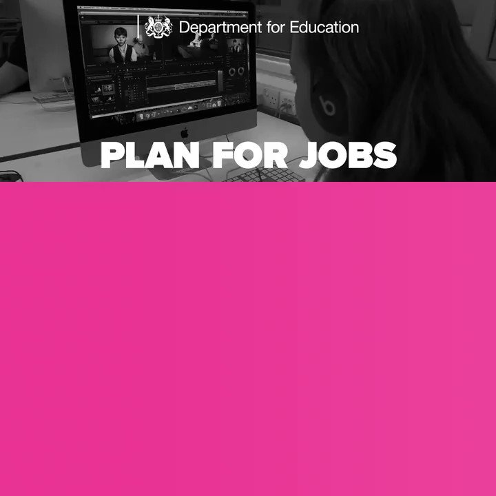 Our #PlanForJobs reforms will ensure everyone can get the skills they need to find a good job or progress in their career, whatever their age and wherever they live.
