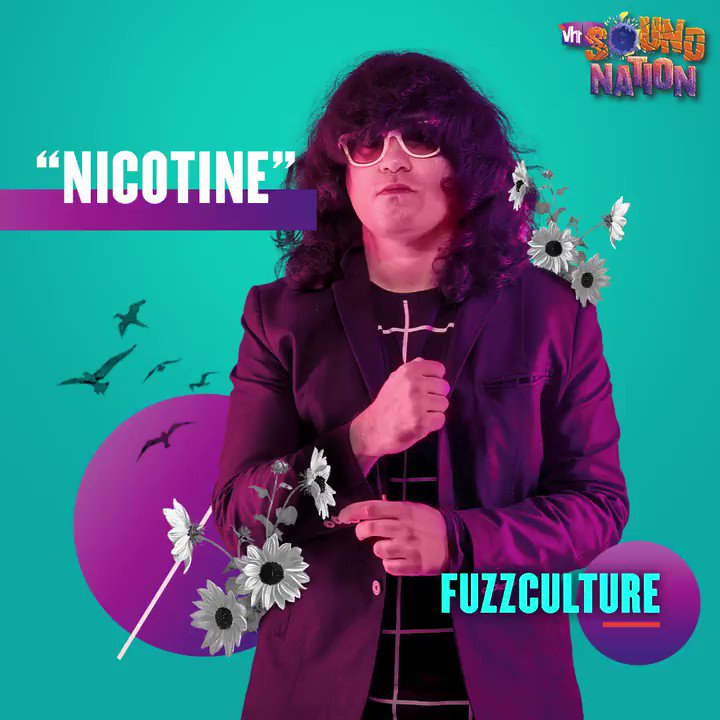 Amp up your mood with @FuzzCulture's electro-rock vibe!⚡ Check out his latest track 'Nicotine', only on #Vh1SoundNation.   #Vh1India #GetWithIt