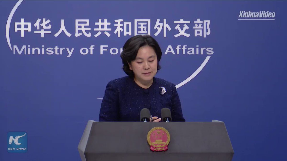 The better angels in China-U.S. relations will surely defeat the evil forces, the Chinese Foreign Ministry spokesperson Hua Chunying said on Thursday