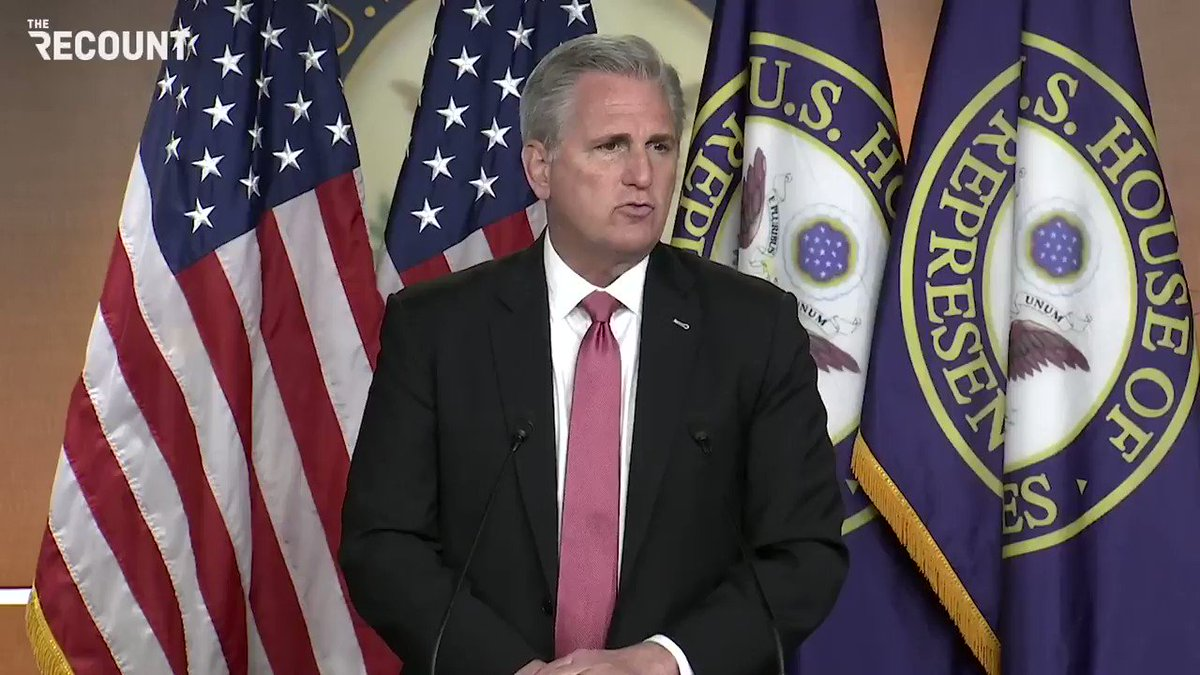 "House Minority Leader Kevin McCarthy: ""I was disappointed to see, within hours of assuming office, the new administration was more interested in helping illegal immigrants than helping our own citizens …"""
