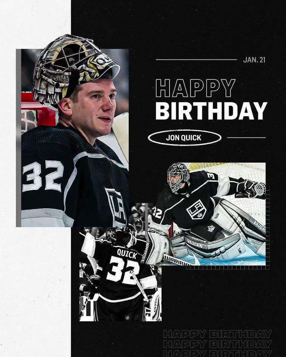 Reminders (1/21/21): - Jonathan Quick's birthday - Jonathan Quick's birthday - Jonathan Quick's birthday - LA Kings home game
