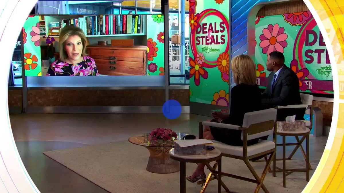 THIS MORNING ON @GMA: @toryjohnson has AMAZING #GMADeals that will help you relax at a reasonable price!