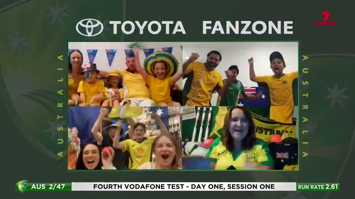 A thrilling end to an unbelievable series in the Toyota Fanzone!   @toyota_aus  #OhWhatAFeeling