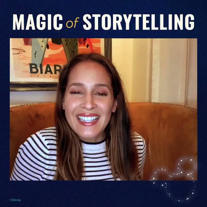 We are pleased to have @JainaLeeOrtiz from @ABCNetwork's @Station19 as a part of the #MagicOfStorytelling. Listen in as she takes us down the rabbit hole with 'Alice in Wonderland' from 'My First Disney Classics Storybook.' Learn more at .
