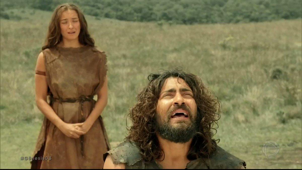 Replying to @NovelaGenesis: Adão pede perdão por seus erros e conversa com Deus, que não demora a respondê-lo! #Gênesis03