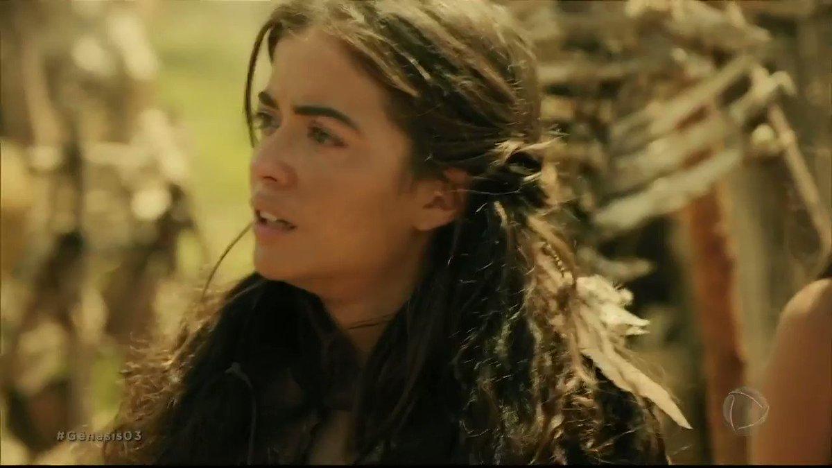 Replying to @NovelaGenesis: Renah se desespera pela irmã e acredita que Caim agirá igual ao pai #Gênesis03