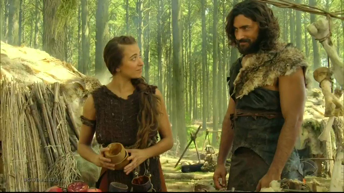 Replying to @NovelaGenesis: Adão e Eva se aproximam novamente e relembram de quando se conheceram #Gênesis03
