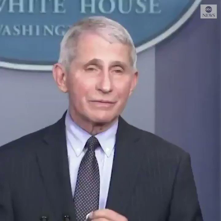 """Dr. Fauci said Thursday it's """"liberating"""" to discuss facts behind coronavirus without fear of """"repercussions."""""""