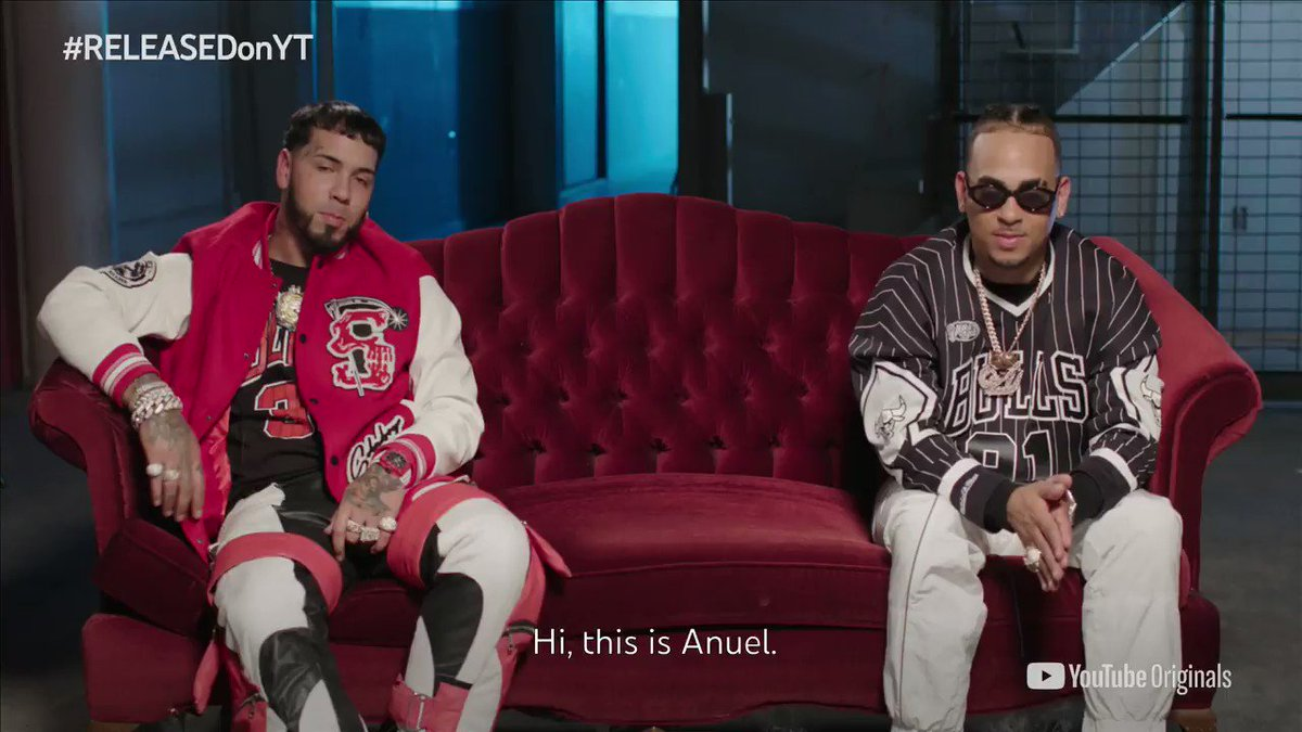 .@Anuel_2bleA + @ozuna are here to tell us all about their collab album #LosDioses on tonight's episode of #RELEASEDonYT. Tune in at 11:45pm ET →